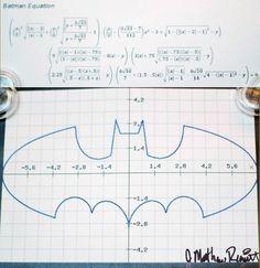 Design You Trust – Social Inspirations! #equation #symbo #batman