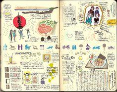 hayatenokouji moleskine blog 1