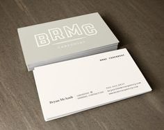 Brmc business card #card #print #layout #business