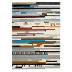 Heal's | Gandia Blasco Le Park Striped Rug by Enblanc - Rugs - Rugs - Living Room #biasco #gandi #striped #park #art #le #rug
