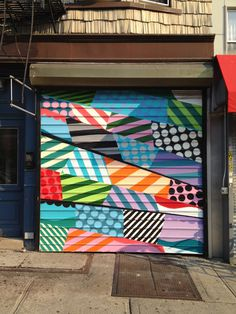 jason woodside HUMAN GALLERY ROLLER DOOR FOR HUMAN NYC, NY