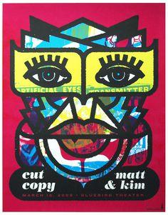 cut copy poster
