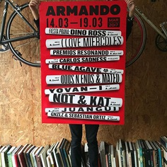 Poster for Armando Records