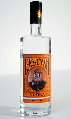 lovely package east van vodka 2 #eastvan #owl