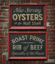 FFFFOUND! | Nutmegger Workshop #oysters #typography