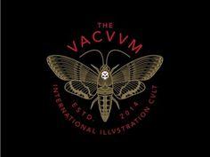 The Vacuum #moth #animal #drawing #illustration