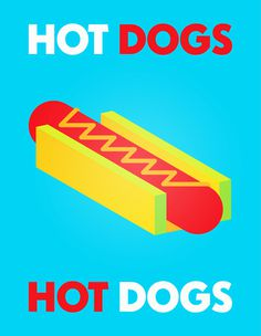 sketches #poster #hot dog #jules tardy