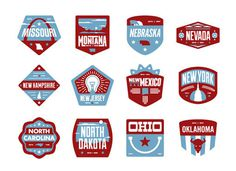 Floorpass #badges #states #crests