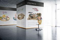 office #interior #mural #office #design #artwork #environmental