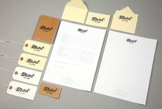 Craig Scott - Motel Studios | Craig Scott / Bench.li #stamp #stationary #retro #motel #identity #vintage #logo