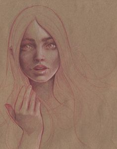 kraft paper | Flickr - Photo Sharing! #paper #illustration #kraft #girl