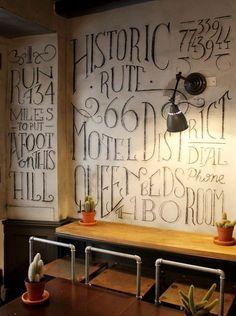 love the chalk #Office Design #Working Design #Working Decor| http://officedesignraina.blogspot.com