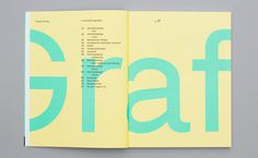 B+Y_Visueltkatalog04 #print #spread #magazine #catalog #table of contents