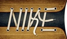 All sizes | Nike laces | Flickr - Photo Sharing! #typography