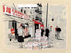 Incase | Evan Hecox | Arkitip #city #illustration #evan #hecox