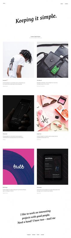 Chris Biron - Mindsparkle Mag - Chris Biron is a Freelance Digital Designer based in London whose cool interactive website is awarded as sit