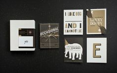 Occasional Greetings | Work | Wall to Wall Studios | Pittsburgh, PA & Honolulu, HI #card