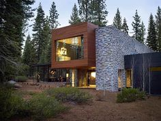 Modern Tahoe Mountain Retreat Jamie Bush & Co