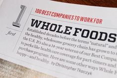 """Fonts In Use – Fortune Magazine, """"500"""" Issue #article #print #fortune #gutter"""