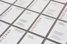 Vincent-Meertens-Strietman-Identity_01 #business #stationary #branding #card #print #copper #strietman #identity #pms #coffee
