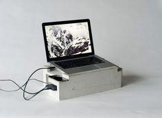 greg papove: foundation laptop storage unit #computer #product