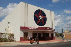 All sizes | Texan Theater, Kilgore | Flickr - Photo Sharing! #signage #logo #building #script