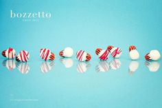 XMAS 12 by Bozzetto on Behance #nuts #white #red