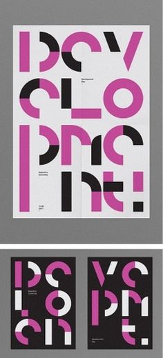 Buamai - Prints And Posters / Oscar Pastarus Http://oscarpastarus.com/work/development-day/ #graphic #typography