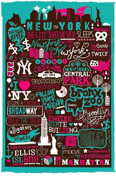 New York New York on Behance #typography