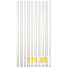 Thermoplastic #Resin #Hot-melt #Adhesive #Stick #20PCS #- #CRYSTAL #CREAM