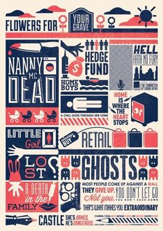Castle-Inspired Posters - WRMSNFCTD | Creative Contagion #castle #poster #typography