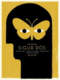Sigur Ros Concert Poster by Vahalla Studios #design #poster