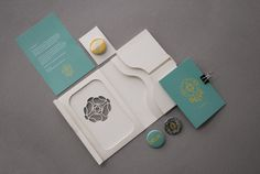 Post-Show Package - Delve '13 on Behance #finishing #layout