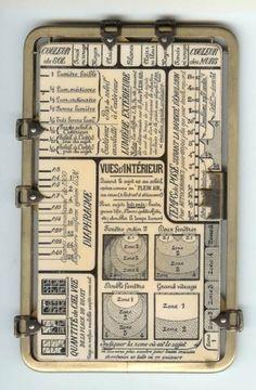 DASH//7 #chart #vintage