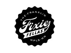 Dribbble - Mpls Bike Gangs / The Franklin Fixie Fellas by Allan Peters #logo #peters #allan #identity