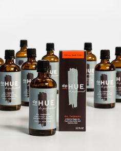 dp Hue #packaging #glass #brown #bottle