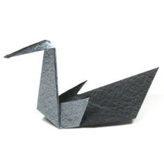 How to make a cute origami swan (http://www.origami-make.org/howto-origami-swan.php)