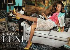 Karlie Kloss by Mario Testino » Creative Photography Blog #fashion #photography #inspiration
