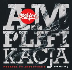 Rah!m AMPLIFIKACJA - CD cover on the Behance Network #cover #sjg #amplifikacja #rahim #cd #typo #typography