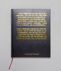 Ill Studio - Ramdane book #typography