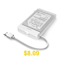 Maiwo #K104 #USB #3.0 #Hard #Drive #Enclosure #- #WHITE