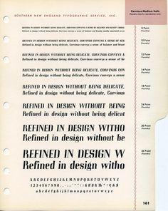 Corvinus Medium Italic type specimen