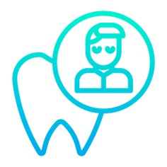See more icon inspiration related to dentist, dental, tooth, healthcare and medical, molar, patient, healthcare and medical on Flaticon.