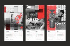 Tanamera Coffee 2017 Calendar • StudioSkato