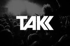 TAKK_logo #typography