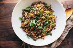 Recipe: Moroccan Wild Rice Butternut Squash Salad Kinfolk #food