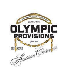 Olympic Provisions / Branding & Package Design, Logo, Signage / The Official Manufacturing Company #logo