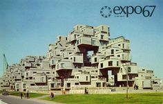 Behind the Expo 67 Logo #expo #1960s #67 #habitat