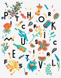 pitchfork #festival #music #print