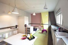 aude borromee: pastel rhythms #interior #design #decoration